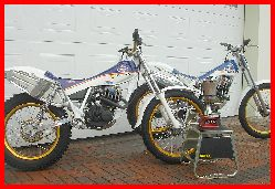 Classictrial modified Honda TLR and RTL