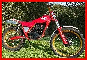 ClassicTrial prepared 340 Fantic twin shock
