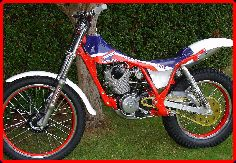 ClassicTrial picture, TLR 200 evo twin-shock Trials for sale, click to enlarge click pop-up to close.